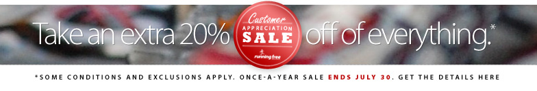 Once-a-year is here. Our annual Customer Appreciation Sale is back. Weve marked down hundreds of items and deeply discounted doorcrashers as a thank you to you. 