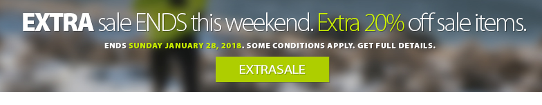 Deal Alert - Our EXTRA sale is now on. Save an EXTRA 20% off all Sale Items including Shoes, Clothing and Accessories that are currently marked down. Use coupon code EXTRASALE Sale ends Sunday Jaunary 28th, 2018. Some conditions apply. Get complete details.