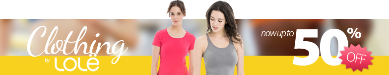 Special Women's Lole 2016 clothing clearout. Save up to 50% off Lole clothing and accessories for Women right now.