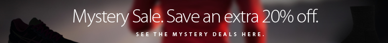 Mystery Sale! Save an extra 20% off some already amazing deals with the coupon below. See the deals here. Offer ends Friday October 7, 2016.