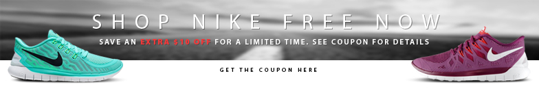 Shop Nike Free now and save an extra $10 off for a limited time. Get the coupon for details.