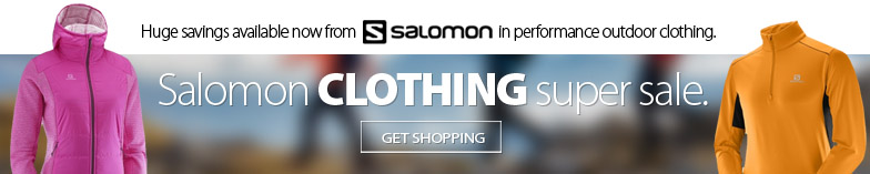 Save up to 50% off of the best in performance outdoor athletic clothing from Salomon. Discount available while supplies last. Selected models marked down up to 50% off. Get shopping here.