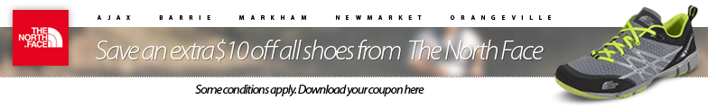 Click here for a coupon to save an extra $10 off all The North Face Ultra Trail Shoes. See coupon for details.