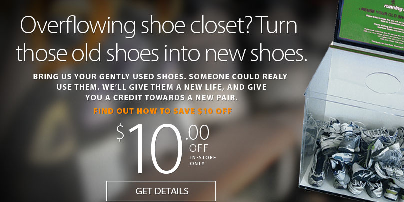 Since 1997 running free has been collecting and distributing gently used footwear to people here in the community and around the world. Since then over 100,000 pairs have been diverted from landfills and used to improve the lives of people in need.