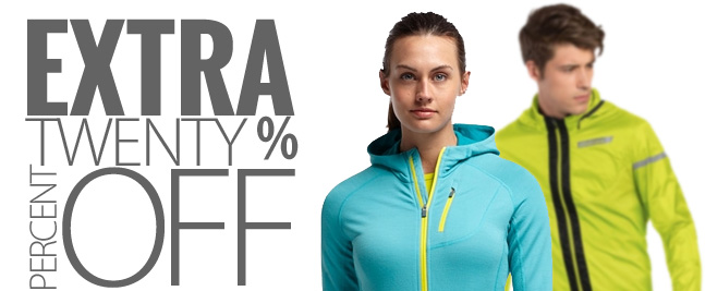 For a limited time, save an extra 20% off all on sale clothing. See coupon for complete details.