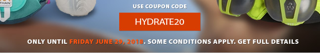 Now is a great time to review yoru hot weather training strategy! All products in teh HYDARTION cateogry are now an Extra 20% off until Friday June 29th, 2018. Shop now for best selection.