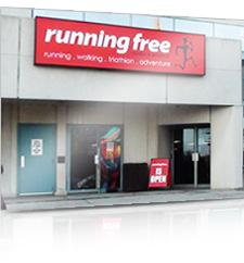running free store