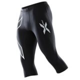 2XU 3/4 Compression Tights Men's Black/Silver Logo