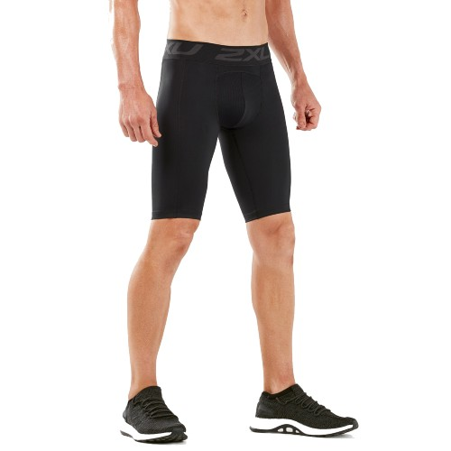 2XU Accelerate Comp Shorts G2 Men's Black/Silver