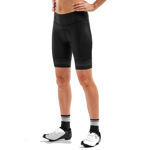2XU Elite Cycle Shorts Women's Black/Black