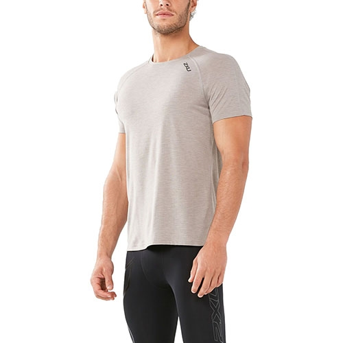 2XU HEAT S/S Run Tee Men's Wet Weather/Wet Weather