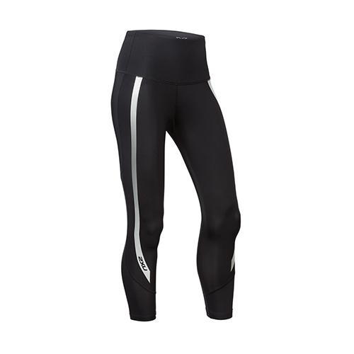 2XU Hi-Rise 7/8 Tights Women's Black/Silver
