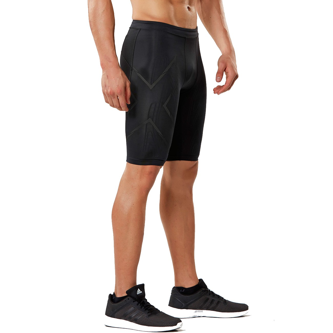 2XU MCS Run Compression Short Men's Black/Nero Reflective