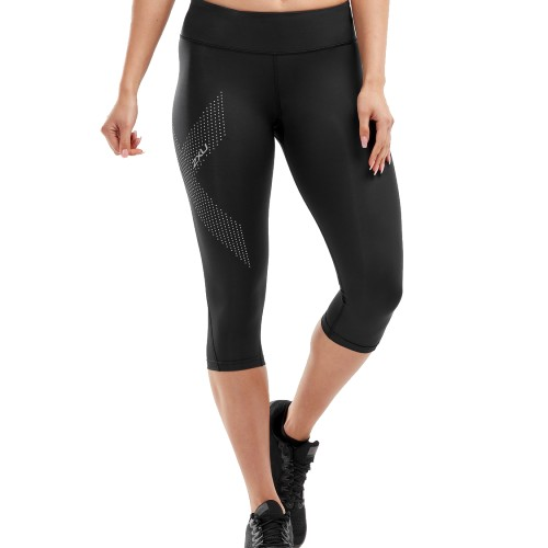 2XU Mid-Rise CompressionTight Women's Black/Dotted Reflect