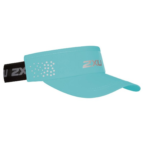 2XU Performance Visor Unisex Nile Blue/Black
