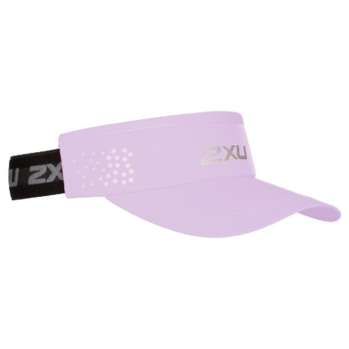 2XU Performance Visor Unisex Winsome Orchid/Black