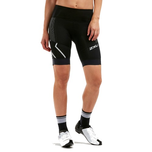 2XU Steel X Comp Cycle Shorts Women's Black/Black