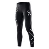 2XU Thermal Compression Tights Women's Black/Silver Logo