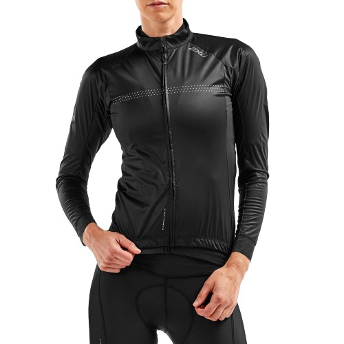 2XU Wind Defence Cycle Jacket Women's Black/Reflective