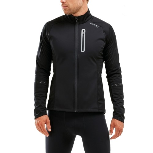 2XU Wind Defence Jacket Men's Black/Black