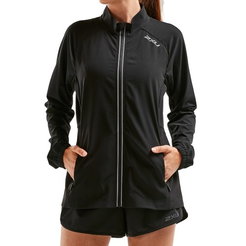 2XU XVENT Run Jacket Women's Black/Black