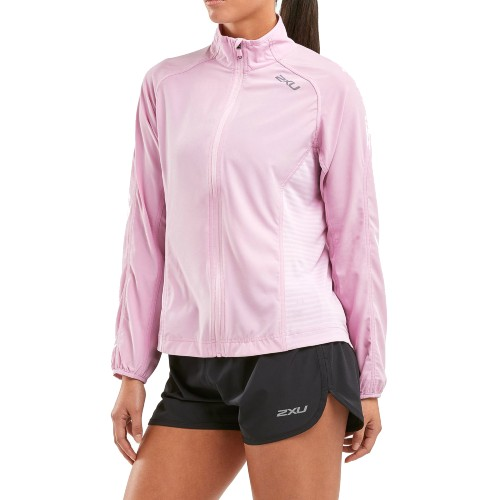 2XU XVENT Run Jacket Women's Winsome Orchid