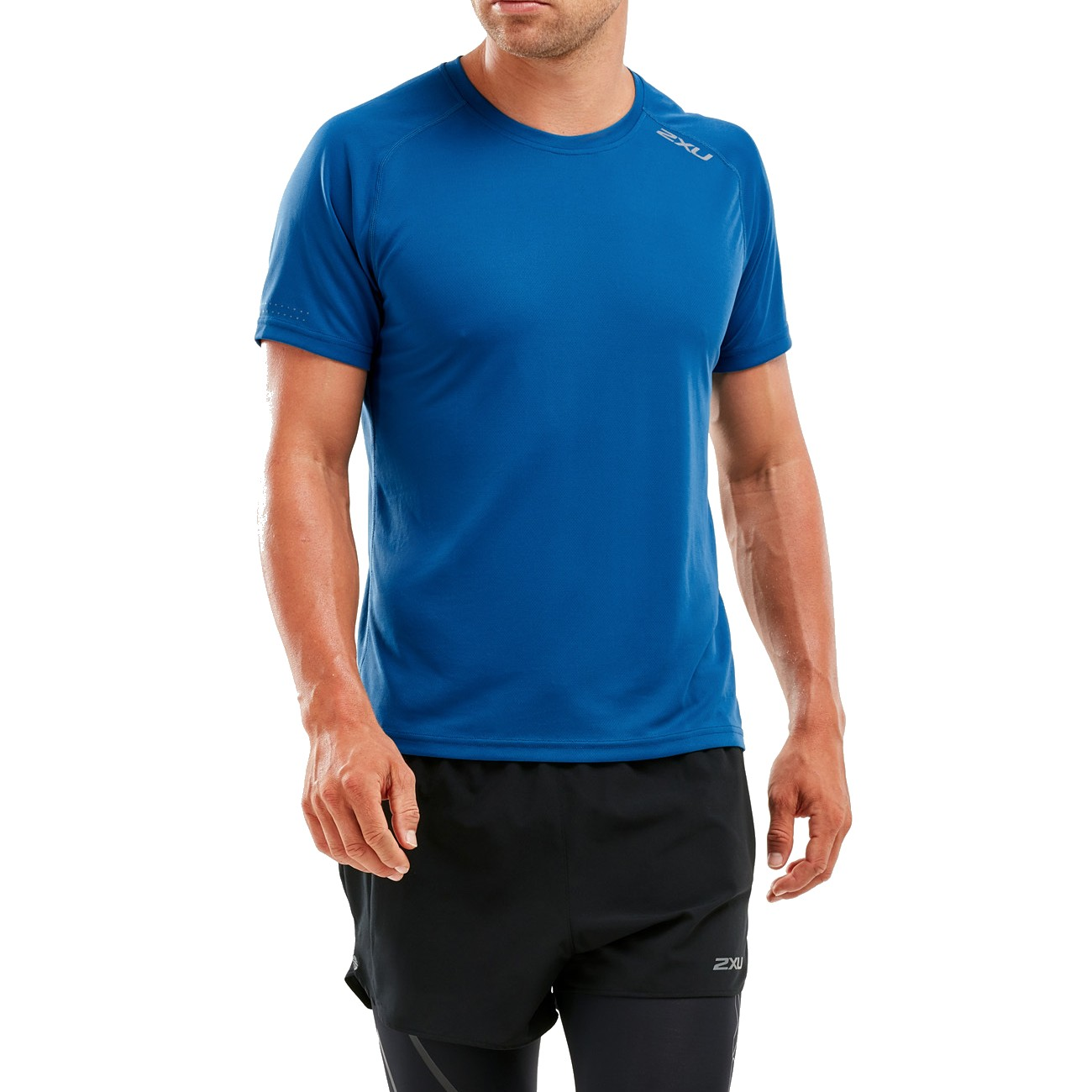 2XU XVENT S/S Tee Men's Space Blue/Reflective X