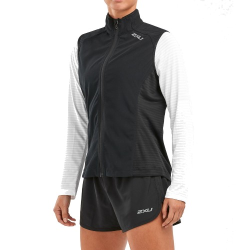 2XU-XVENT-RUN-Vest Women's Black/Black