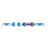 Addaday Pro Massage Roller Blue/White/Grey/Red