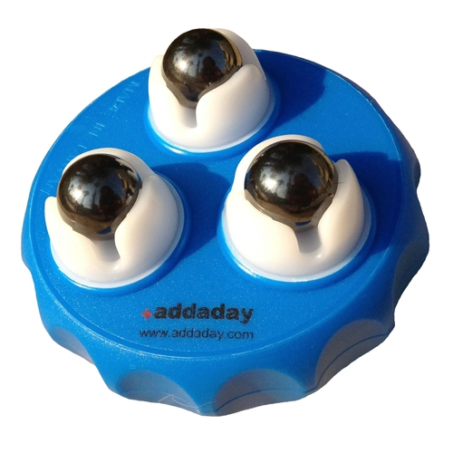 Addaday Type M Marble Roller Blue/White