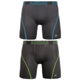 Adidas 2PkClimalite BoxerBrief Men's Black/Blue/Green