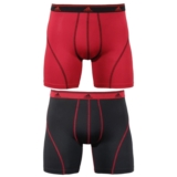 Adidas 2PkClimalite BoxerBrief Men's Real Red/Black