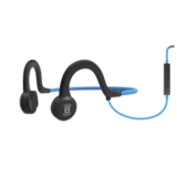 AfterShokz Sportz Headphones Wired Ocean Blue w/mic