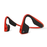 AfterShokz Trekz Titanium Wireless Headphones Red