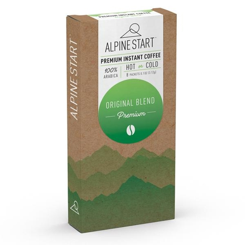 Alpine Start Premium Coffee 8 Instant Coffee Packets
