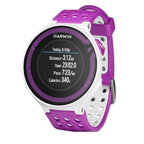 garmin forerunner 220 unisex violet white running free