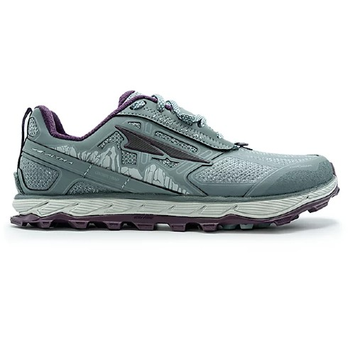 Altra Lone Peak 4.0 Low RSM Women's Grey/Purple