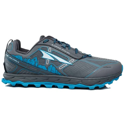 Altra Lone Peak 4.0 Low RSM Men's Gray/Blue