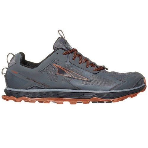 Altra Lone Peak 4.5 Men's Grey/Orange