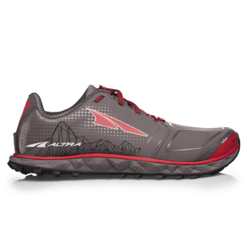 Altra Superior 4.0 Men's Grey/Red - Altra Style # AFM1953G-2 S19