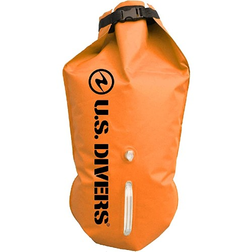 Aqua Lung Towable Dry Bag Orange, 15L