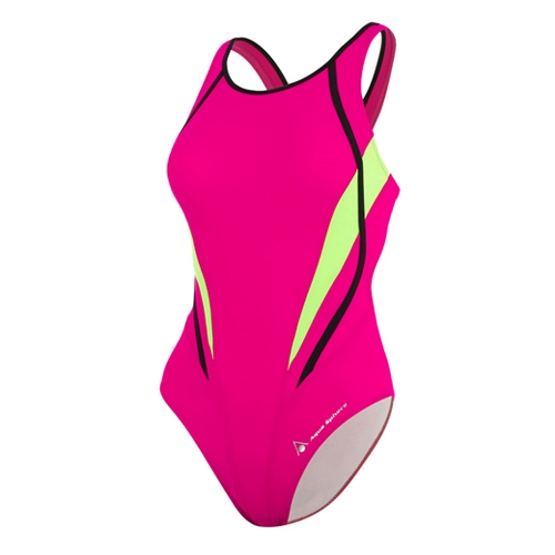 Aquasphere Julia Swimsuit Women's Dark Pink/Light Green