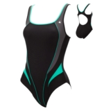Aquasphere Lima Swimsuit Women's Black/Grey/Teal
