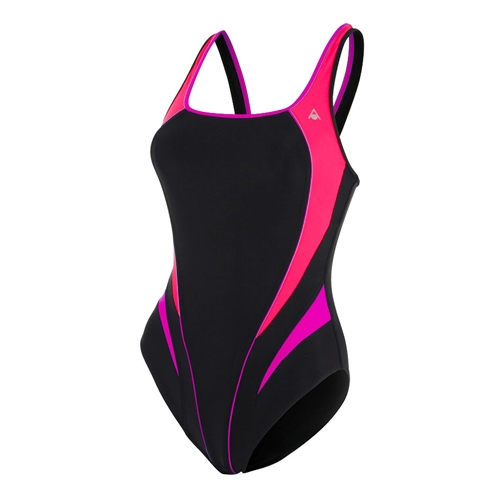 Aquasphere Lita Swimsuit Women's Black/Bright Pink - Aquasphere Style # SW1270121 CF17