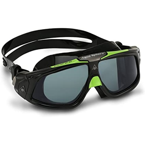 Aquasphere Seal 2.0 Smoke Lens Unisex Black-Green/Smoke