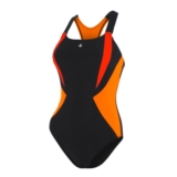 Aquasphere Siskin One Piece Women's Black/Light Orange