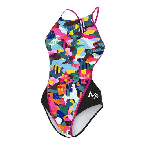 Aquasphere Tempe Racerback Women's Multi Dark Pink