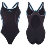 Aquasphere Ursula Swimsuit Women's Black/Blue/Grey