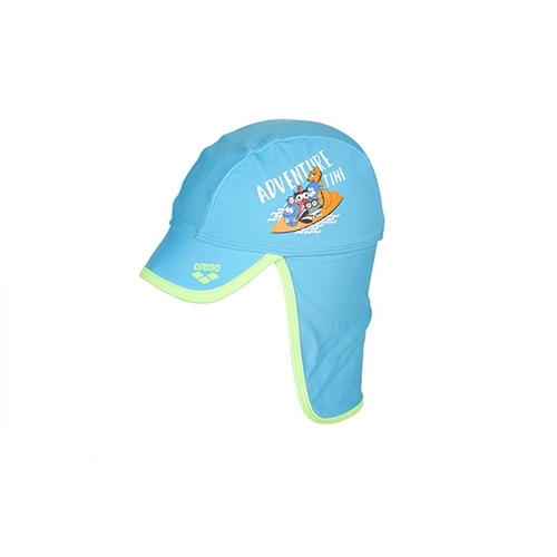 Arena Awt Kids Cap Kid's Sea Blue-Shiny Green