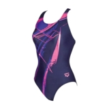Arena Backjump One Piece Women's Navy/Fresia Rose